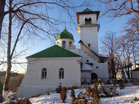 Maykop, Russia, Monastery, Architecture, Religion