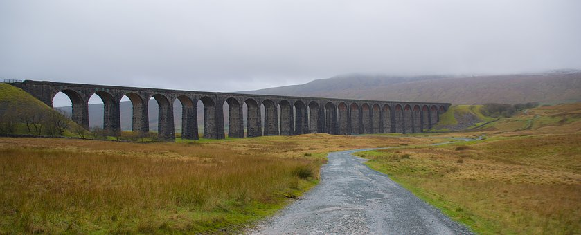 Ribblehead Viaduct, Viaduct, Railway Bridge