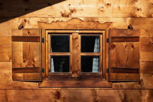 Alpine Hut, Hut, Wood, Mountain Hut, Log Cabin, Rustic
