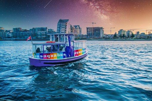 Small Boat, Transportation, Sigh, Sea, Transport, Water