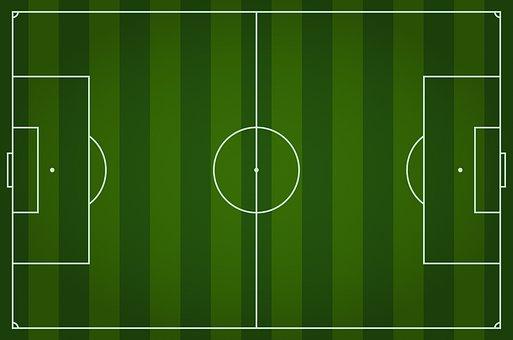 Soccer Field, Digital Background, Soccer, Green