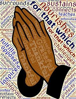 Pray, Hands, Grateful, Thankful, Appreciation