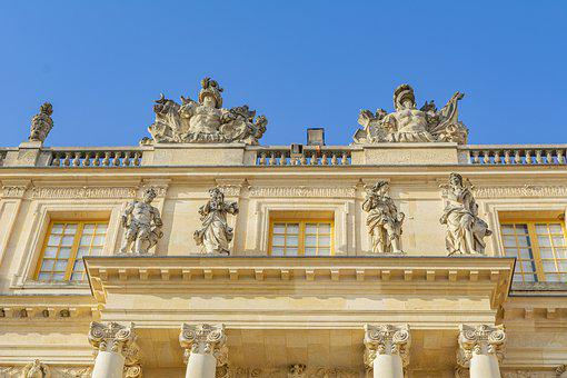 Palace, Paris, Versailles, France, Architecture