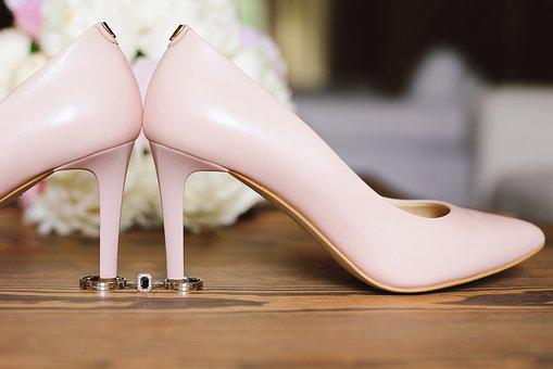Wedding Shoes, Wedding Rings, Shoes, Love, Happiness
