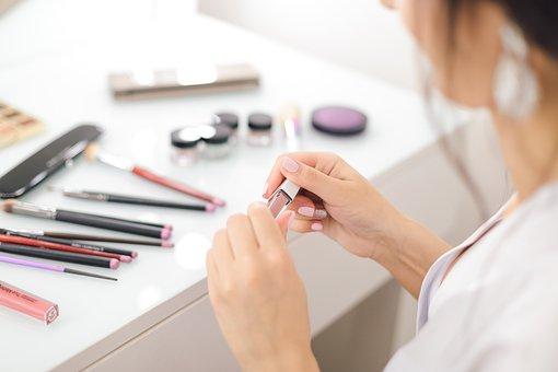 Lipstick, Szinka, Makeup, Cosmetics, Hands, Woman