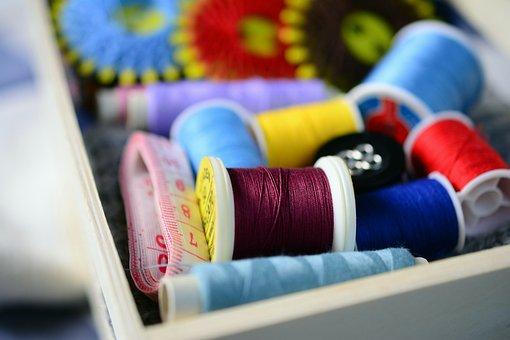 Sewing Thread, Sewing Box, Yarn, Sew, Tailoring, Craft