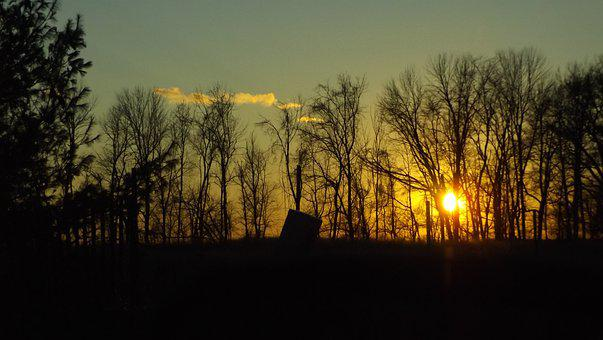 Sundown, Sunset, Abendstimmung, Evening Sun