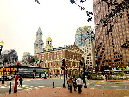 Boston, Massashussets, City Centre, Architecture