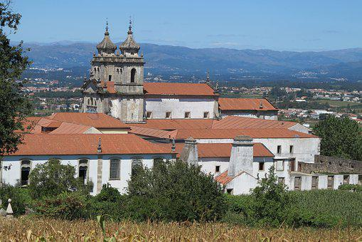Monastery, Portugal, Building, Church, Architecture