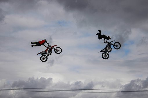 Cool, Bikes, Stunts, Motorcycle, Man, Biker, Fun
