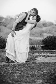 Wedding, Black White, True Love, Wedding Day