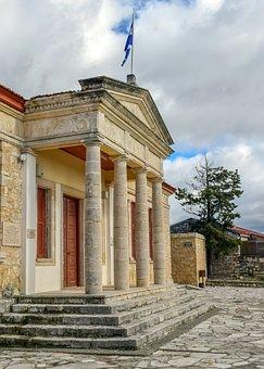 School, Building, Architecture, Neoclassic, Old