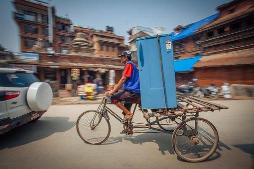 Cargo, Bike, Logistics, Transport, Travel, Wheel
