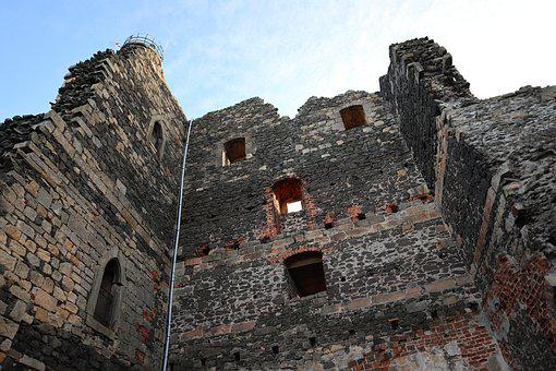 Castle, The Middle Ages, History, Old, Walls