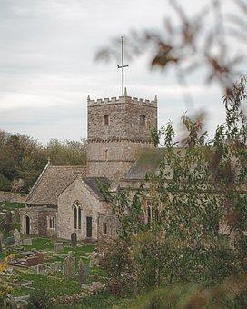 Clevedon, Church, Green, Nature, Forest, Landscape