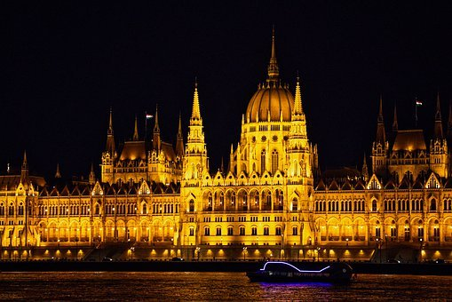 Budapest, The Parliament, Hungary, Architecture, City
