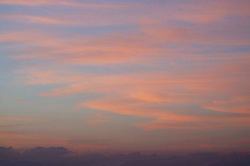 Sky, Clouds, Nature, Light, Evening, Afterglow, Scenic