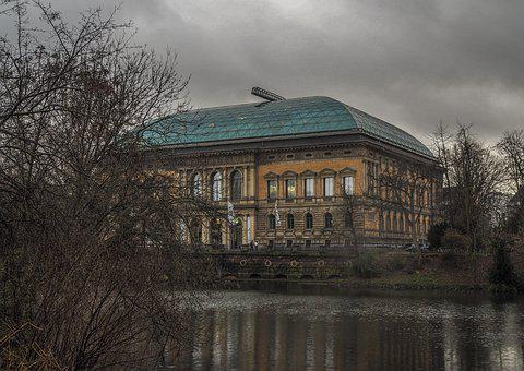 Architecture, Museum, Building, Old, Glass Roof