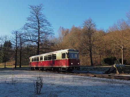 Hsb, Schmalspurbahn Harzer, Railcar, Alexisbad