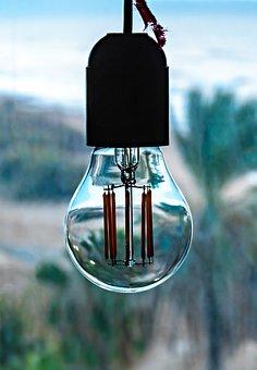 Lightbulb, Filament, Intellectual, Innovation, Glow