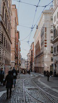 Florence, Road, Alley, Italy, Historical, Travel