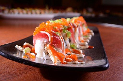 Japanese Sushi, Fresh Sushi, Japanese Food