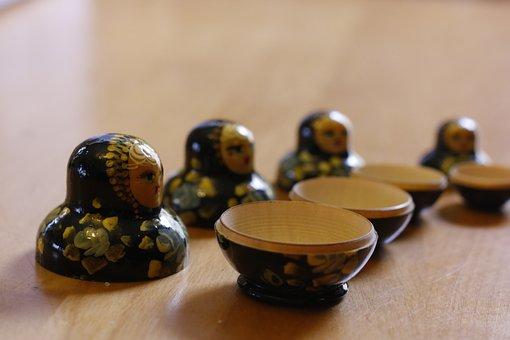 Matryoshka, Dolls, Russia, Matroschka, Traditional
