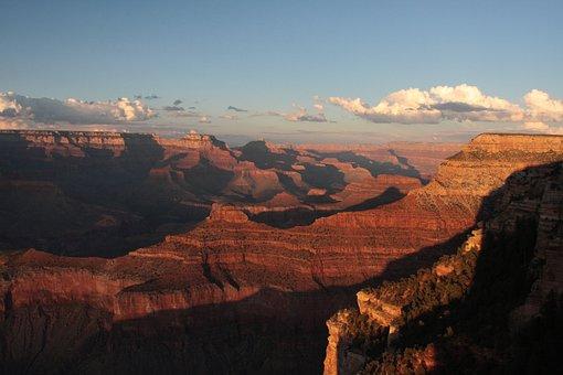 Usa, Grand Canyon, Landscape, Nature, National Park