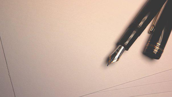 Pen, Writing, Ink Pen, Letter, Correspondence, Report