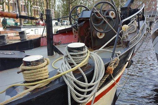 Ship, Canvas, Bug, Port, Nautical, Thaw