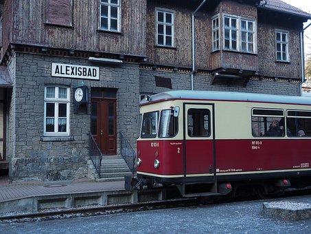 The Selketal Railway, Hsb, Railcar, Alexisbad