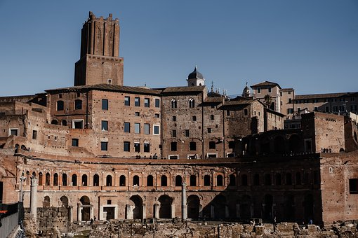 Roma, Road, Alley, Italy, Historical, Travel, Europe