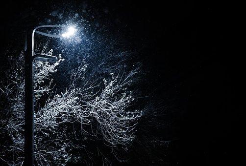 Light, Snow, Winter, Christmas, Cold, Space, Landscape