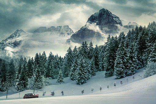 Wintry, Winter, Snow, Snow Landscape, Ski Holiday