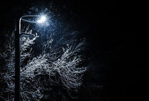 Light, Snow, Winter, Christmas, Cold, Space, Landscape