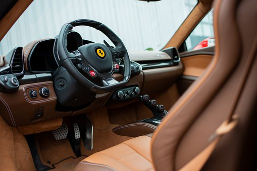 Ferrari From The Inside, Sports Car, Car Interiors