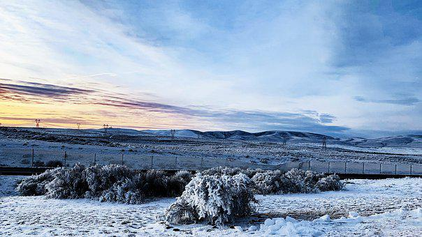 Winter, Snow, Sun, Cold, Nature, Landscape, Wintry