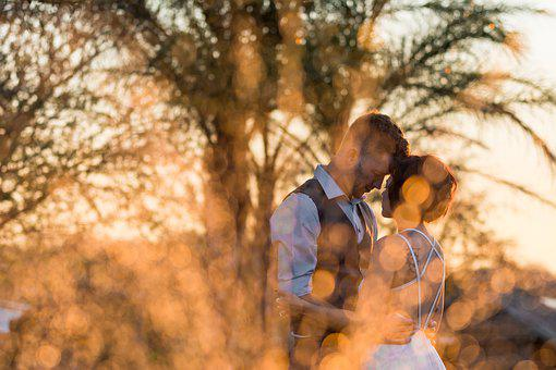 Wedding, Sunset, Church Bells, Mr Mrs, Wedding Day