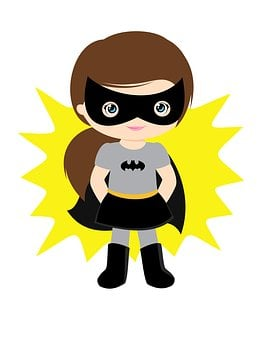 Batgirl, Girl, Super, Superhero, Hero, Power, Costume