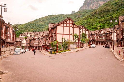 The Shofar Of The Ancient Town, Chongqing, Wulong