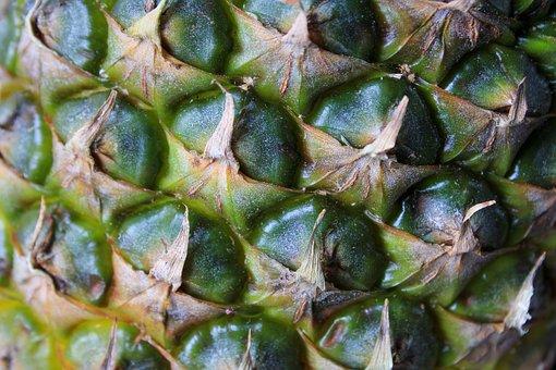 Pineapple, Tropical, India, Fruit, Juicy, Food, Ripe