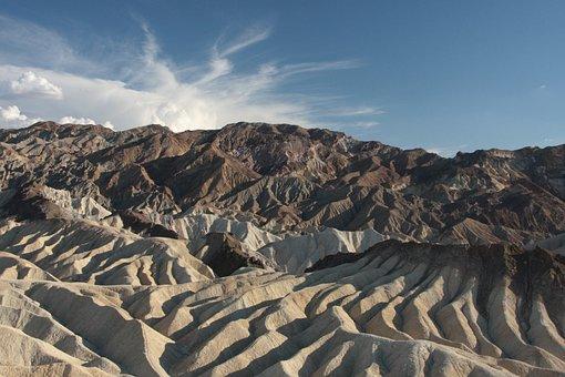 Usa, Death Valley, Desert, Landscape