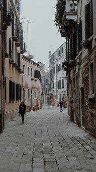 Italy, Venice, City, Water, Architecture, Building