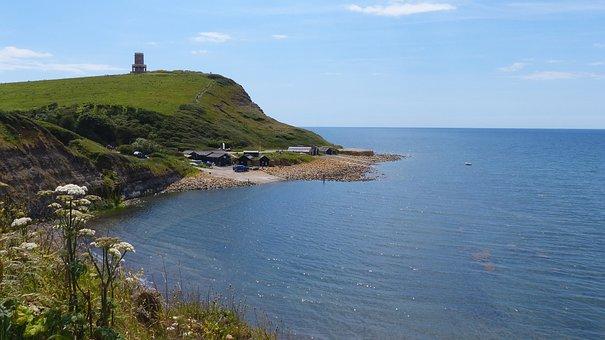 Kimmeridge, Bay, England, Dorset, Beach, Sea, Coast