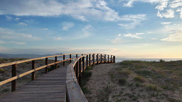 Sea, Beach, Summer, Sand, Landscape, Nature, Blue