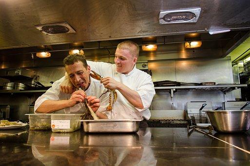 Chef, Kitchen, Lobster, Food, Cook, Restaurant, Fun