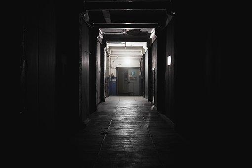 Corridor, Light, Door, Interior, Prospects, Blank