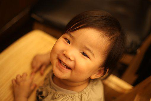 Baby, Smile, Daughter, Happy, Children, Cute, Girl