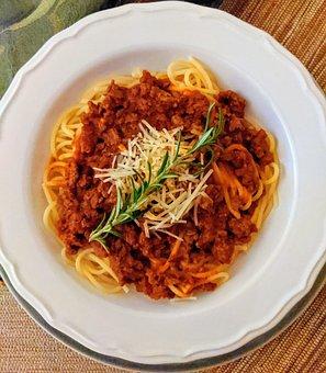 Spaghetti, Spaghetti Bolognese, Dinner, Pasta