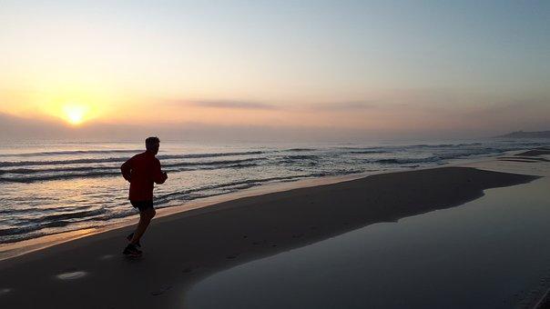 Dawn, Fog, Beach, Landscape, Tomorrow, Atmospheric